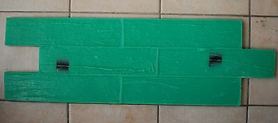 decorative stamped concrete cement stamp  PARQUET , free gift RELEASE AGENT
