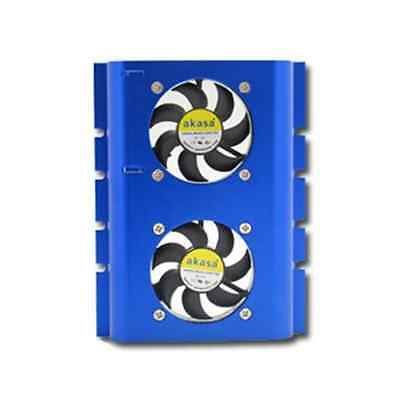 Akasa AK-HD-BL Blue hard drive cooler - SAME DAY DISPATCH