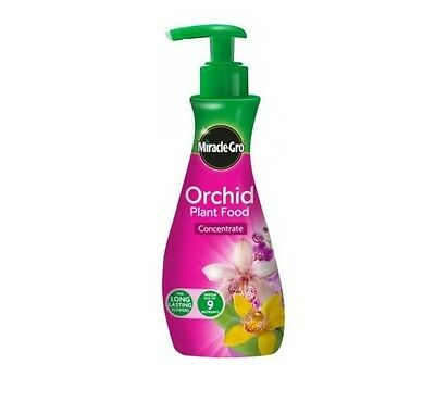 Brand New Miracle-Gro Orchid Plant Food Concentrate 236Ml 100057
