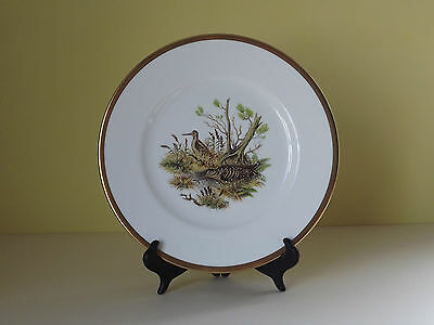Crown Staffordshire Birds of Fields and Moorland Plate ~ Woodcock (L59,8)