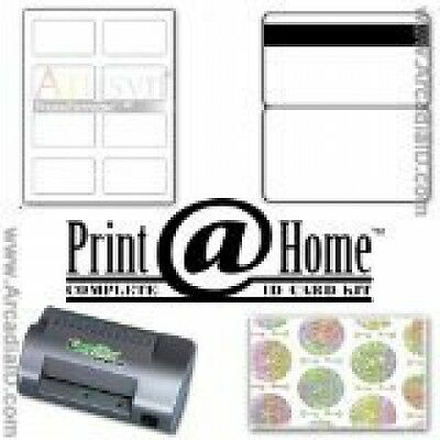 easyIDea ID Card Kit - Make 25 ID Cards with Teslin Paper, Inkjet Printer &