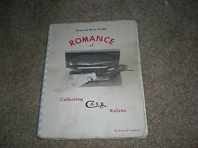 1972 Pictorial Price Guide Romance of Collecting Case Knifes Pocket 1st Edition