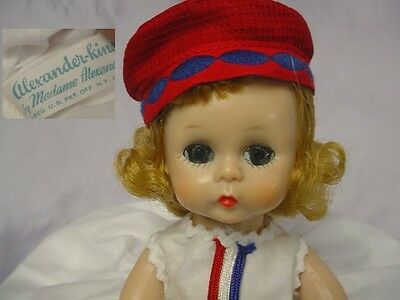 MADAME ALEXANDER-kins SLW Blonde DOLL Tagged Outfit