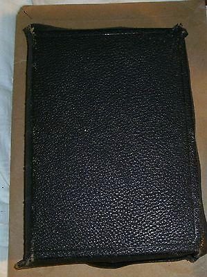 HOLY BIBLE Collins Sons International Edition leather cover? Gilt edge antique