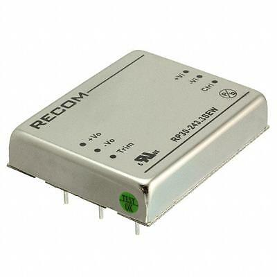1 x Recom Isolated DC-DC Converter RP30-243.3SEW, Vin 10-40 V dc, Vout 3.3V dc