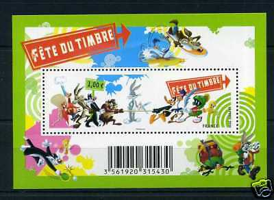 FRANCE 2009, FEUILLET F4341 LOONEY TUNES, COMICS, neuf**, VF MNH STAMP