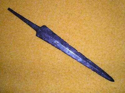 Medieval German 16th/17th Century iron dagger genuine old with markers mark