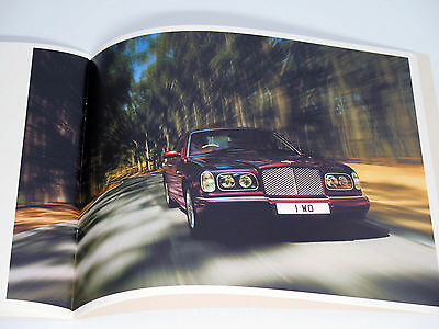 Bentley Arnage R 28-Page Sales Brochure Catalog 2002 MINT
