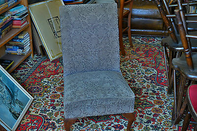 Vintage 1930's Art Deco Child's Upholstered Chair