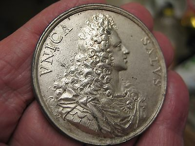 Jacobite medal 1721 the old pretender . South sea bubble medal.