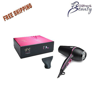 ghd Electric Pink AIR Hair Dryer Professional Hairdryer ghd approved Stockist