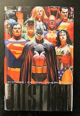 Justice HC Hardcover by Alex Ross Set Volume 1-3 OOP