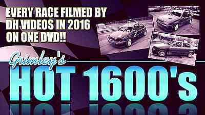 Grimley Oval Raceway - Every Hot 1600 Race Filmed In 2016 - Dh Videos Dvd