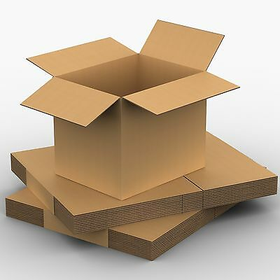 20 x Packing Moving Boxes  360 x 325 x 305mCardboard Carton Removalist Carry Box