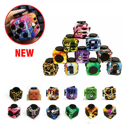 IN STOCK! Fidget Cube Children Desk Toy Adults Stress Relief cubes toys Gifts