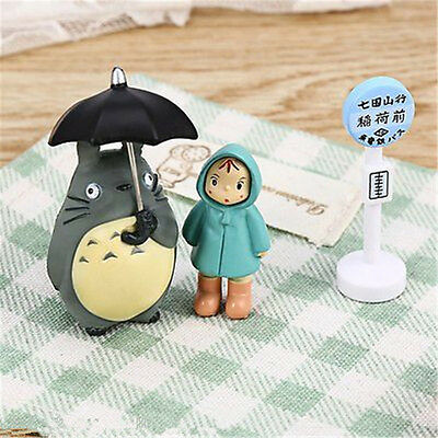 Totoro Figurine Japanese Collection Kids Cartoon Toys Studio Ghibli My Neighbor