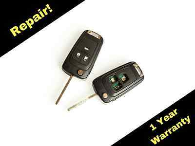 Repair Service for Vauxhall Astra J and Insignia 2 & 3 Button Key + New Case