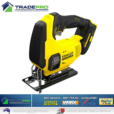 Stanley Fatmax® 18v Cordless Jigsaw Genuine FMC650B-XE Multi Blade PRO Tool Only