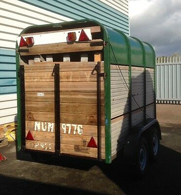 Ifor Williams Livestock / Cattle / Sheep / Box Trailer With Decks