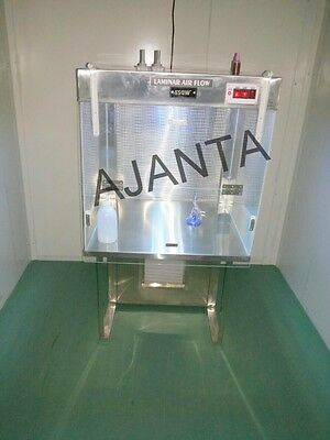 Laminar Air flow bench stainless steel 2 cubic with hepa filter, laminar S-242