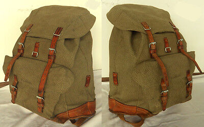Rarity orginal Vintage Swiss Army Backpack year 1969 fine Quality
