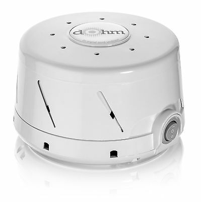 Marpac Dohm-DS All-Natural White Noise Sound Machine, White