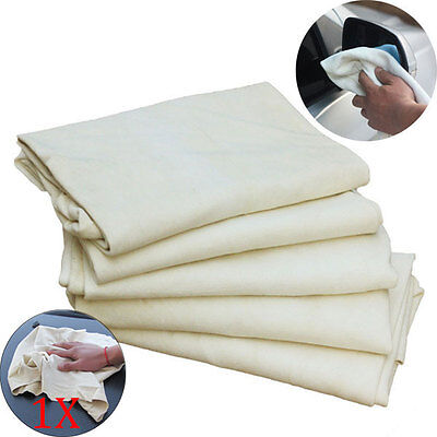 Drying Cleaning Towel Car Natural Drying Chamois Deerskin Leather Cloth