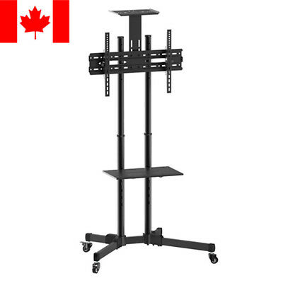 "Universal Mobile TV Cart TV Stand with Mount /Trolley with Camera Shelf 37""-70"""
