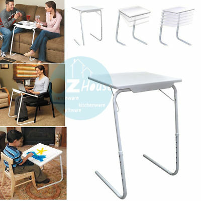 Ajustable Table Buddy - Foldable Table Laptop Tray Bed Mate Portable Desk