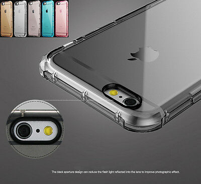 Luxury Shockproof Rugged Hybrid Rubber TPU Cover Case for iPhone 6 6S 7 Plus