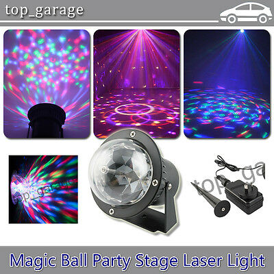 RGB Party Stage Projector Light Xmas Outdoor DJ Disco Laser Lighting Magic Ball