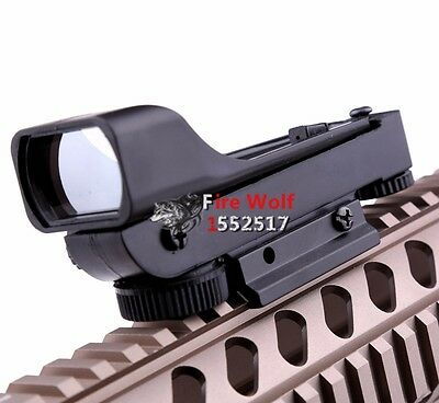 New Hunting Tactical Reflex Sight Red Dot Sight Scope Wide View for airsoft nerf