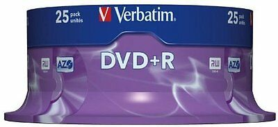 Verbatim (43500) : DVD+R 16x 25-pack : Optical Media
