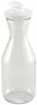 Winco Polycarbonate Decanter With Lid, 1.5-liter