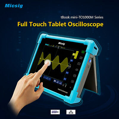 Micsig 100 MHz 4 CH Digital Tablet Oscilloscope TO1104M