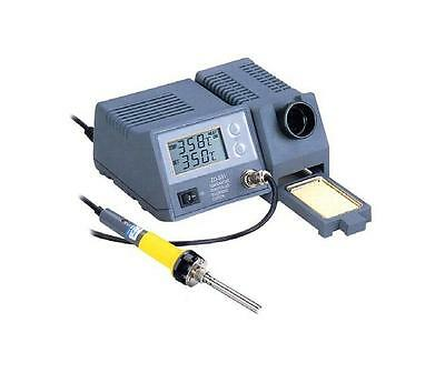 ZD-931 Professional Soldering Station with digital 2 x 3 1/2 grades LCD-Display.
