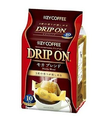 Key Coffee drip on Mocha blend 8g х 10 F/S Japan