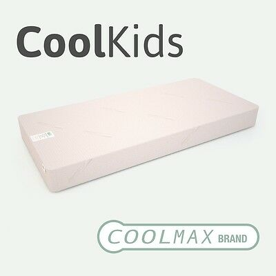 CoolKids - 4FT Small Double 15cm - Pocket Sprung Memory Foam Mattress - CoolMax