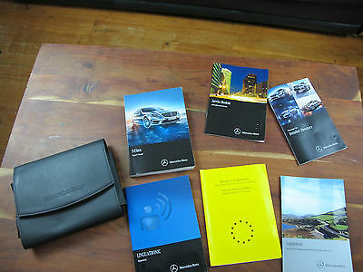 Mercedes S-Class W221 Owners Manual Handbook Wallet  Pack