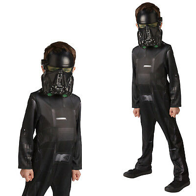 Rubies Star Wars Rogue One Childs Death Trooper Classic Fancy Dress Costume