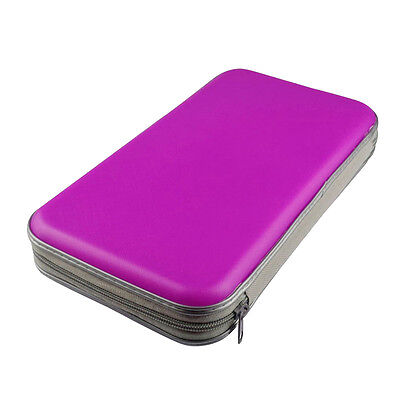80Pcs DVD CD Disc Wallet Bag Carry Storage Organizer Pouch Case Box Cover Holder