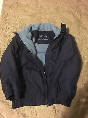 Cuddly Ponies Fleece Lined Blouson Jacket 5/6 years approx