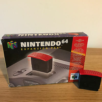 Official N64 Nintendo 64 Expansion Pak Boxed - FAST POST