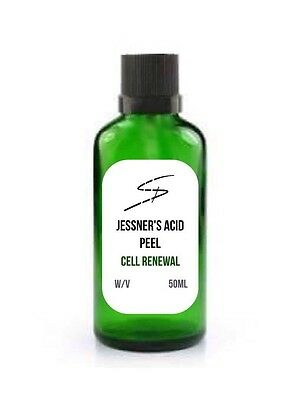 Jessner's Chemical Peel Salicylic Lactic Resorcinol 50ml FREE Gel Neutraliser!