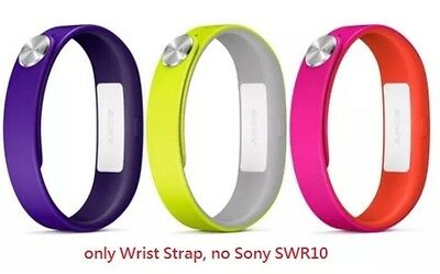 Sony SWR110 SmartBand Wrist Straps 1280-9638 Mobile Large  - Green,Pink,Purple