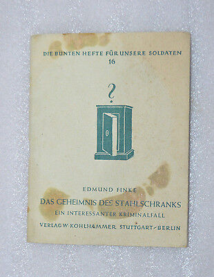 WW2 German book for each soldier 1943 year