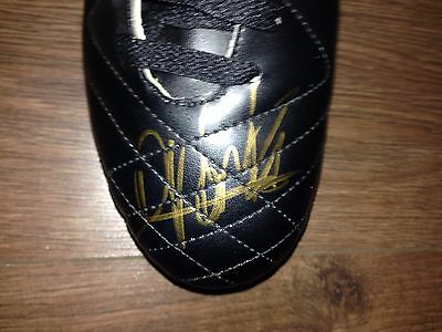 Authentic Signed Dimitri Payet West Ham United Umbro  Boot...real Signature..coa