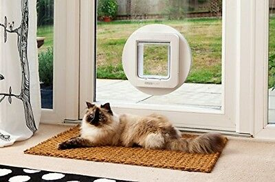SureFlap Microchip Pet Door Keep Intruder Animals Out Programme To Lock & Unlock