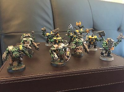 Warhammer 40k Ork Nobz And Warboss