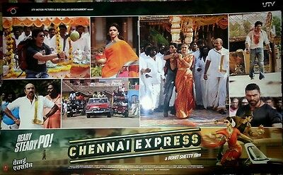 Chennai Express Lobby Cards Shahrukh Khan Deepika Padukone Bollywood Movie